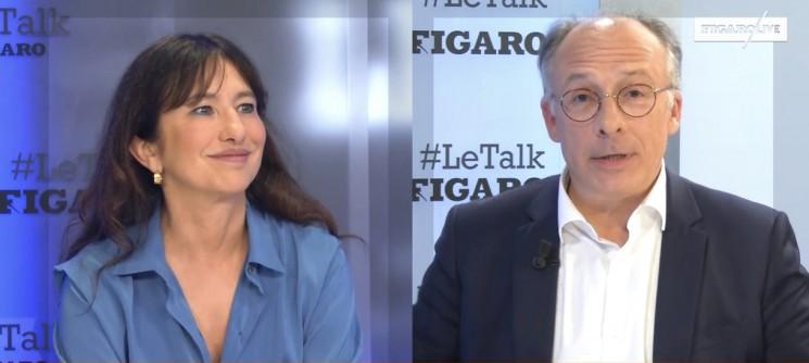 """Marie-Claire Carrere-Gee : """"La politique parisienne ne doit pas se faire à l'Elysée!"""" (Le Talk Le Figaro)"""