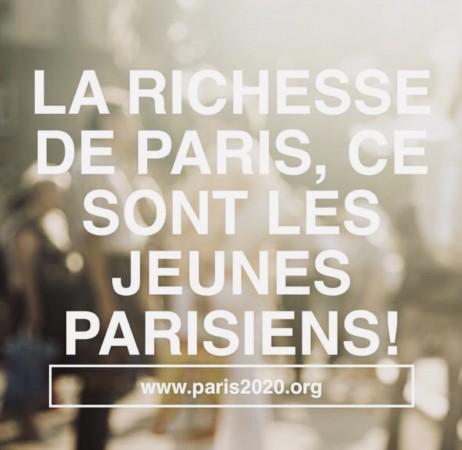 Mon projet pour Paris 2020 : un capital pour chaque jeune Parisien !