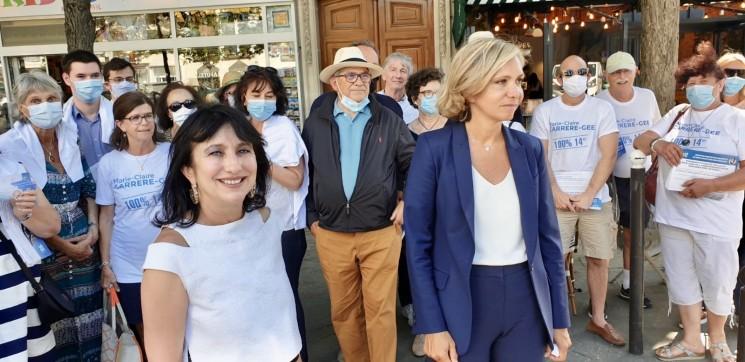 Valérie Pécresse aux électeurs du 14e : Après 20 ans d'une municipalité à bout de souffle, quel que soit votre vote du 1er tour, mobilisez-vous pour le changement! Au 1er tour on choisit, au 2nd on élimine!