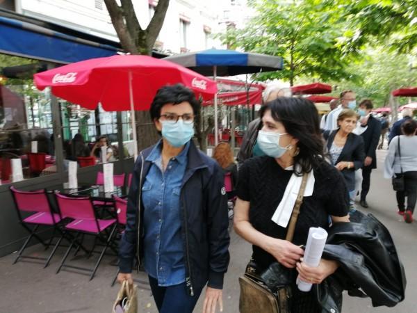 Avec Rachida Dati dans le quartier Montparnasse, de la place de Catalogne au Boulevard Edgar Quinet en passant par la rue du Commandant René Mouchotte