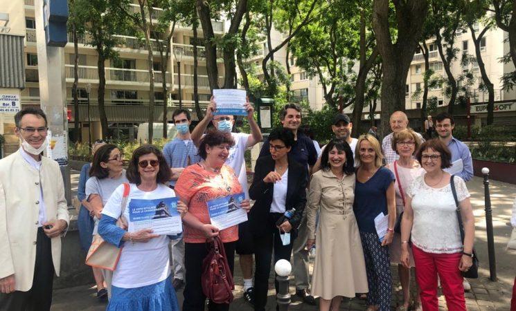 Tocqueville et le résultat des élections dans le 14e arrondissement de Paris